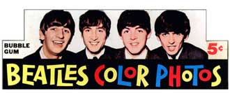 The Beatles Color Photos Wax Box